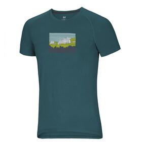 Ocun Raglan T-shirt Herrer, petroleumsgrøn
